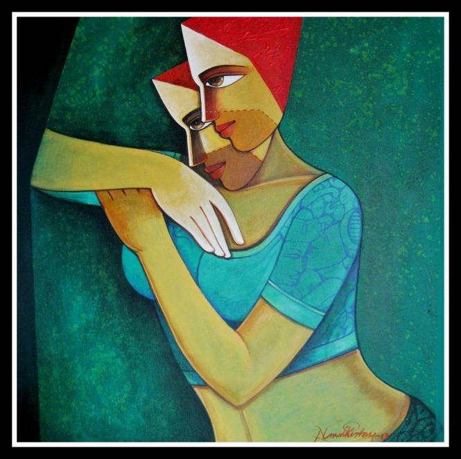 Nawal Kishore Life 41 (24''x24'')